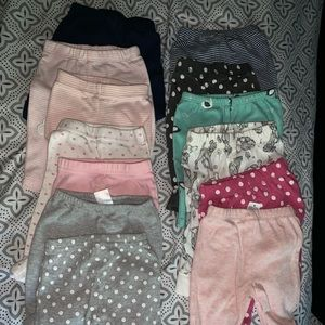 Newborn Baby Girl Clothes (LOT 51 items)